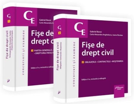 Fise de drept civil. Editia a 5-a_Boroi, Anghelescu, Nicolae