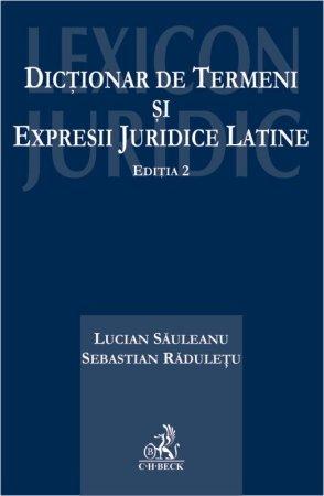 Dictionar de termeni si expresii juridice latine - Sauleanu, Raduletu