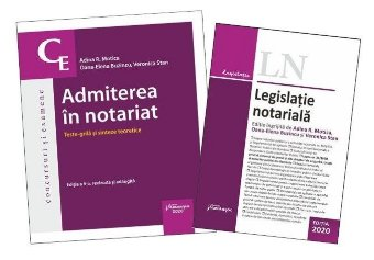 Pachet Admiterea in notariat 2020