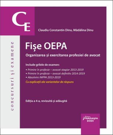 Fise OEPA Editia a 4-a - Claudiu Dinu, Madalina Dinu