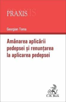 Amanarea aplicarii pedepsei si renuntarea la aplicarea pedepsei - Georgian Toma