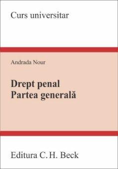 Drept penal. Partea generala - Andrada Nour