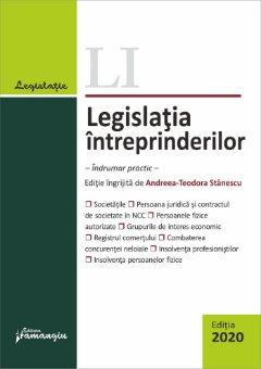 Legislatia intreprinderilor. Editia 2020