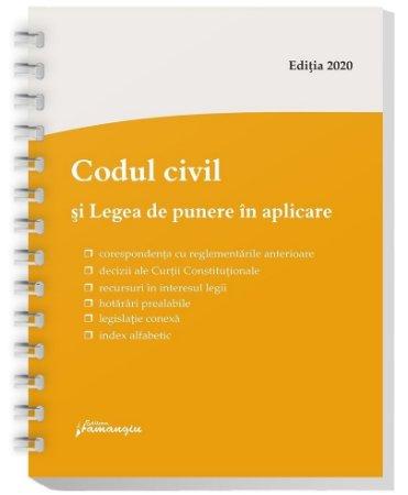 Codul civil si Legea de punere in aplicare. Actualizat la 1 octombrie 2020 – spiralat