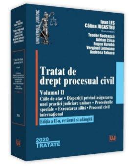 Tratat de drept procesual civil. Vol. II. Editia a 2-a - Les, Jugastru