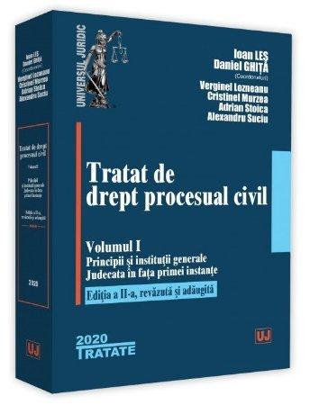 Tratat de drept procesual civil. Vol. I. Editia a 2-a - Les