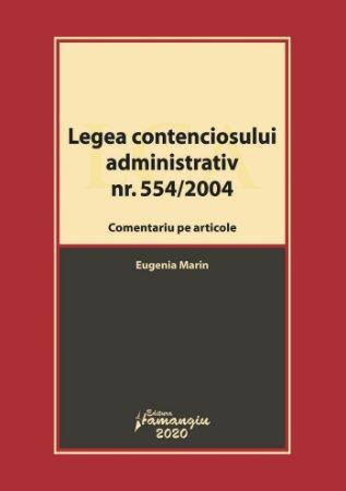 Legea contenciosului administrativ - Eugenia Marin