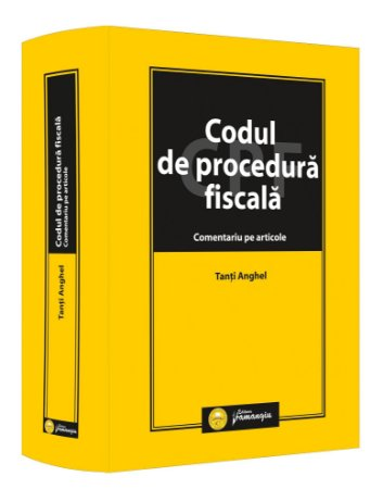 Codul de procedura fiscala Comentariu pe articole