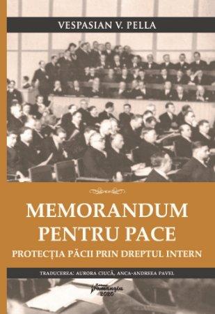 Memorandum pentru pace - Vespasian Pella