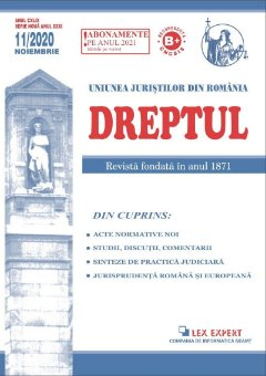Revista Dreptul nr. 11-2020