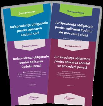 Pachet Jurisprudenta obligatorie 2021