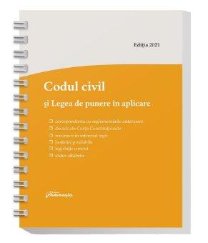 Codul civil si Legea de punere in aplicare. Actualizat la 8 ianuarie 2021 – spiralat