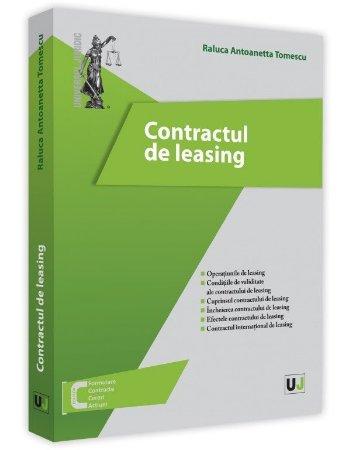 Contractul de leasing - Tomescu