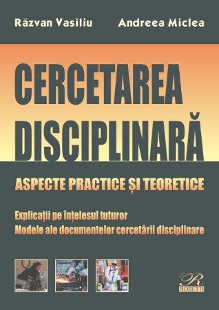 Cercetarea disciplinara_Vasiliu_Miclea
