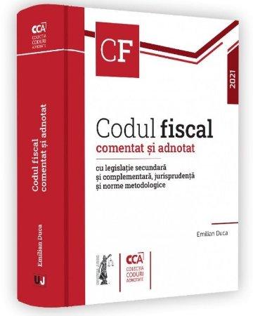 Codul fiscal comentat si adnotat 2021_Emilian Duca
