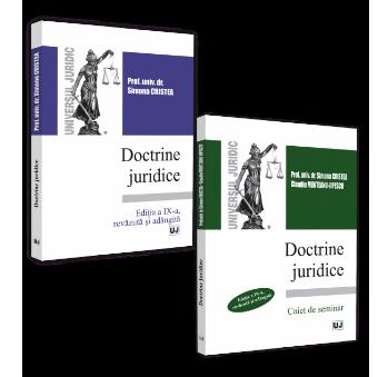 Doctrine juridice - curs si caiet de seminar - editia a 9-a -Cristea, Munteanu-Jipescu