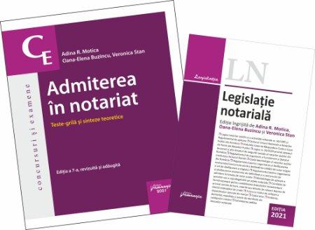 Pachet Admiterea in notariat 2021
