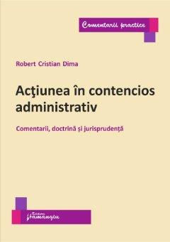 Actiunea in contencios administrativ_Dima