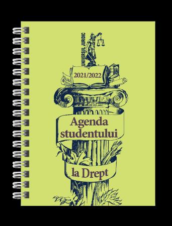 Agenda studentului la Drept 2021/2022