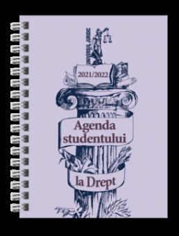 Agenda studentului la Drept 2021-2022