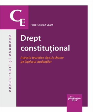 Drept constitutional. Aspecte teoretice, fise si scheme pe intelesul studentilor autor Vlad-Cristian Soare