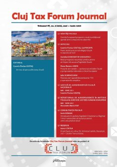 Cluj Tax Forum Journal 3/2021
