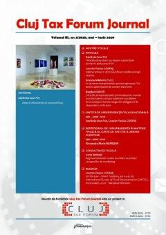 Cluj Tax Forum Journal 3-2020